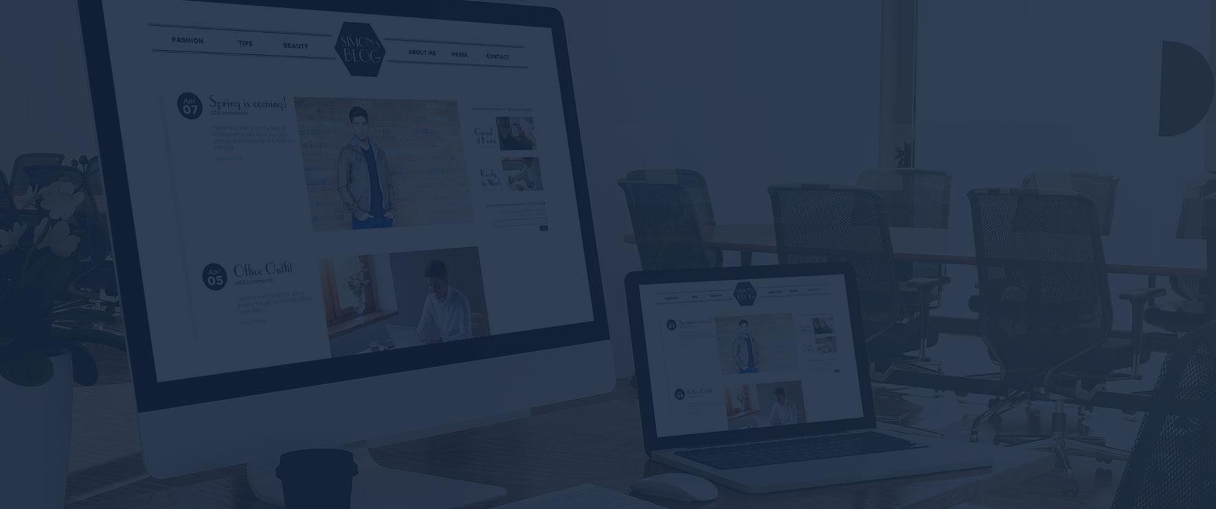 Création de site web tendance